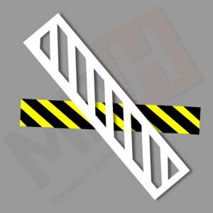 Pochoir zébra pour marquage - Devis sur Techni-Contact.com - 1