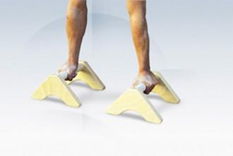 Poignées d'équilibre gymnastique - Devis sur Techni-Contact.com - 2