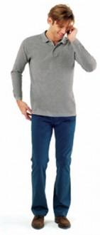 Polo coton manches longues homme - Devis sur Techni-Contact.com - 1