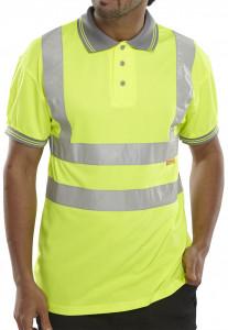 Polo manches courtes jaune - Devis sur Techni-Contact.com - 1