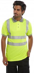 Polo manches courtes jaune - Devis sur Techni-Contact.com - 2