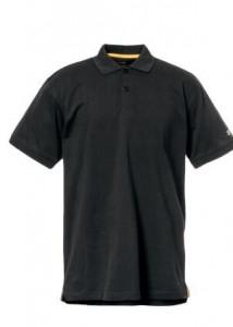 Polo noir Caterpillar - Devis sur Techni-Contact.com - 1