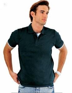 Polo personnalisable manches courtes homme jersey - Devis sur Techni-Contact.com - 1