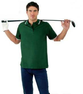 Polo personnalisable manches courtes homme maille piquée - Devis sur Techni-Contact.com - 1