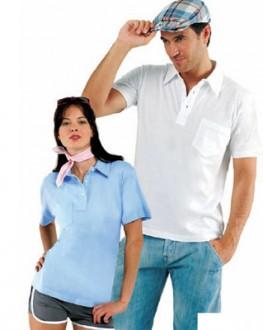 Polo personnalisable manches courtes jersey - Devis sur Techni-Contact.com - 1