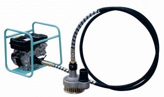 Pompe à câbles avec cadre moteur - Devis sur Techni-Contact.com - 1