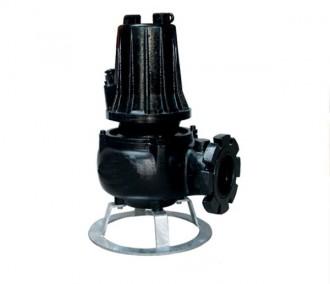 Pompe de relevage industrielle eaux très chargées de 3 à 6 kW - Devis sur Techni-Contact.com - 1