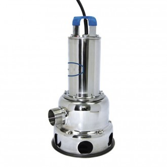 Pompe de relevage triphasée inox - Devis sur Techni-Contact.com - 1