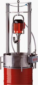 Pompe vide fûts pour liquides visqueux - Devis sur Techni-Contact.com - 1