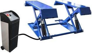 Pont à ciseaux 3000kg maxi posé au sol - Devis sur Techni-Contact.com - 1