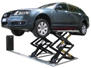 Pont à ciseaux 3200kg maxi posé au sol - Devis sur Techni-Contact.com - 1