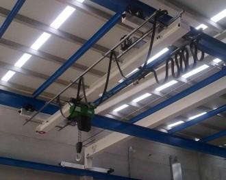 Pont roulant suspendu 12.5 tonnes - Devis sur Techni-Contact.com - 1