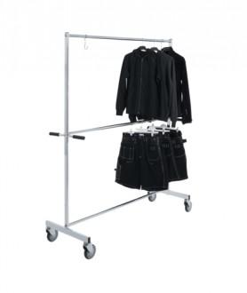 Portant vêtements à roulettes - Devis sur Techni-Contact.com - 1