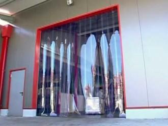 Porte à lamelles PVC - Devis sur Techni-Contact.com - 1