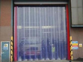Porte à lamelles PVC - Devis sur Techni-Contact.com - 3