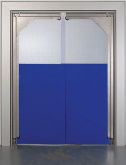 Porte à vantaux souple en pvc - Devis sur Techni-Contact.com - 1