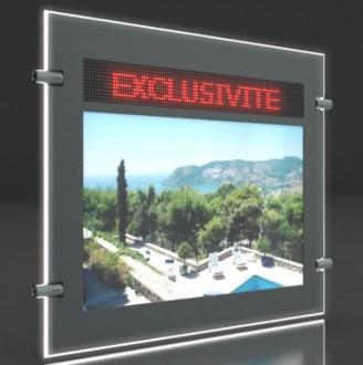 Porte affiche LED dynamique double face - Devis sur Techni-Contact.com - 2