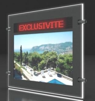 Porte affiche LED dynamique double face - Devis sur Techni-Contact.com - 4