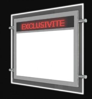 Porte affiche LED dynamique électronique - Devis sur Techni-Contact.com - 1