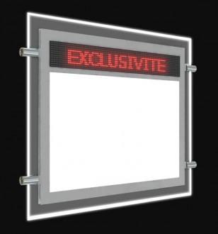 Porte affiche LED dynamique électronique - Devis sur Techni-Contact.com - 2