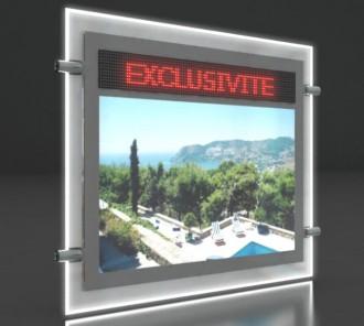 Porte affiche LED dynamique journal lumineux - Devis sur Techni-Contact.com - 2