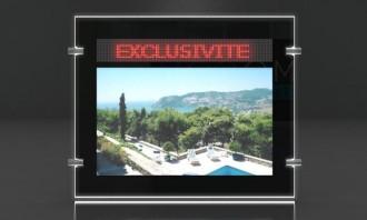 Porte-affiche Led dynamique recto-verso - Devis sur Techni-Contact.com - 1