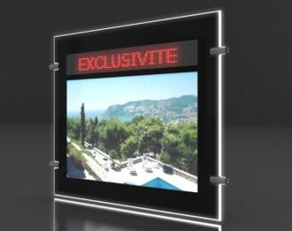 Porte-affiche Led dynamique recto-verso - Devis sur Techni-Contact.com - 2