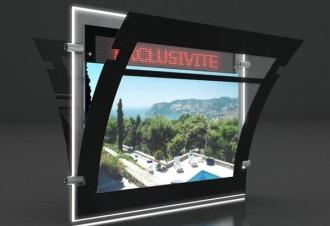 Porte-affiche Led dynamique recto-verso - Devis sur Techni-Contact.com - 4