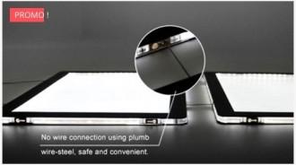 Porte affiche LED ultra lumineux recto-verso - Devis sur Techni-Contact.com - 3