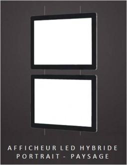 Porte affiche lumineux à LED - Devis sur Techni-Contact.com - 1