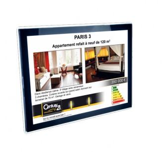 Porte affiche lumineux LED C21 ONE - Devis sur Techni-Contact.com - 1