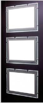 Porte affiche lumineux pour vitrine - Devis sur Techni-Contact.com - 1