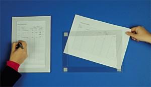 Porte affiche PVC A4 - Devis sur Techni-Contact.com - 3