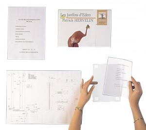 Porte affiche rigide en PVC - Devis sur Techni-Contact.com - 1