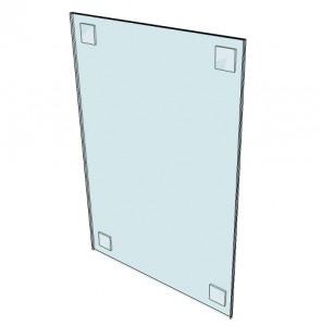 Porte affiche rigide en PVC - Devis sur Techni-Contact.com - 3