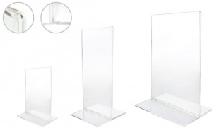 Porte affiche verticale - Devis sur Techni-Contact.com - 1