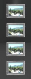 Porte affiches LED 1 colonne double face - Devis sur Techni-Contact.com - 1
