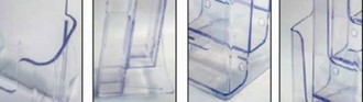 Porte brochure polystyrène 1/3 A4 - Devis sur Techni-Contact.com - 2