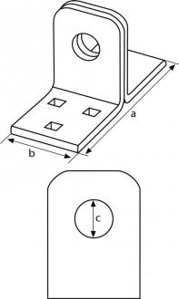 Porte cadenas acier diamètre 12 mm - Devis sur Techni-Contact.com - 2