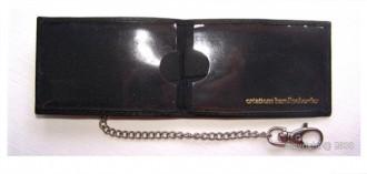 Porte-cartes en cuir avec attache mousqueton - Devis sur Techni-Contact.com - 2