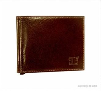 Porte-cartes en cuir marron pour homme - Devis sur Techni-Contact.com - 1