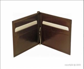 Porte-cartes en cuir marron pour homme - Devis sur Techni-Contact.com - 2