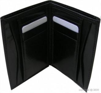 Porte-cartes en cuir noir - Devis sur Techni-Contact.com - 2