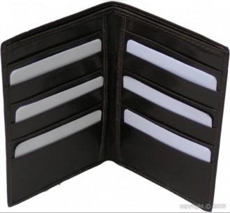 Porte-cartes masculin en cuir noir - Devis sur Techni-Contact.com - 2