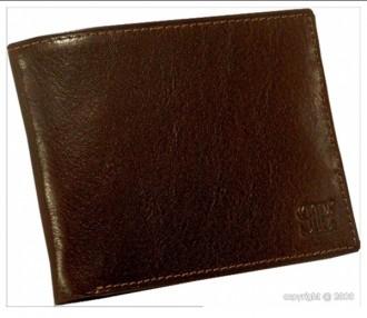 Porte-cartes pour homme en cuir marron - Devis sur Techni-Contact.com - 1
