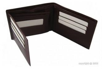 Porte-cartes pour homme en cuir marron - Devis sur Techni-Contact.com - 2