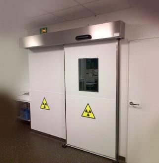Porte coulissante anti rayons X - Devis sur Techni-Contact.com - 2