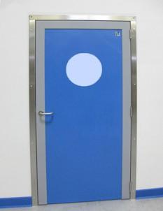 Porte de service en polyéthylène - Devis sur Techni-Contact.com - 3
