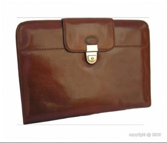 Porte-documents en cuir avec serrure - Devis sur Techni-Contact.com - 1