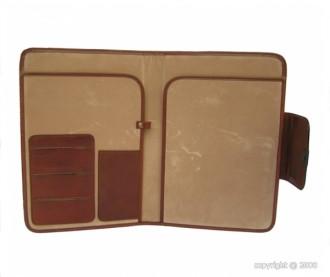 Porte-documents en cuir avec serrure - Devis sur Techni-Contact.com - 2
